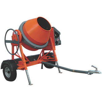 The AT350 Mixer is ideal for mixing larger batches of concrete and mortar.